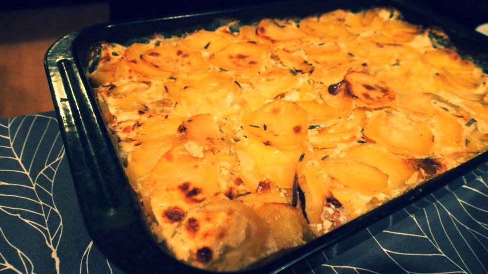 Gratinované brambory