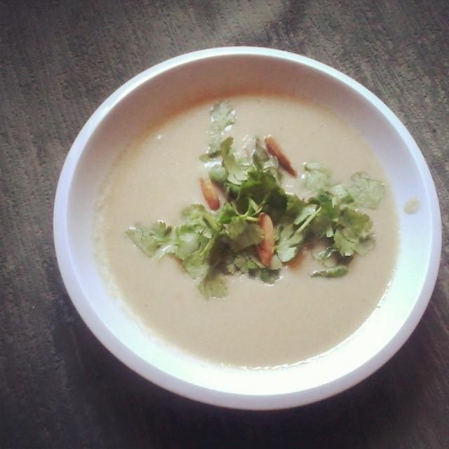 Marocká květáková polévka