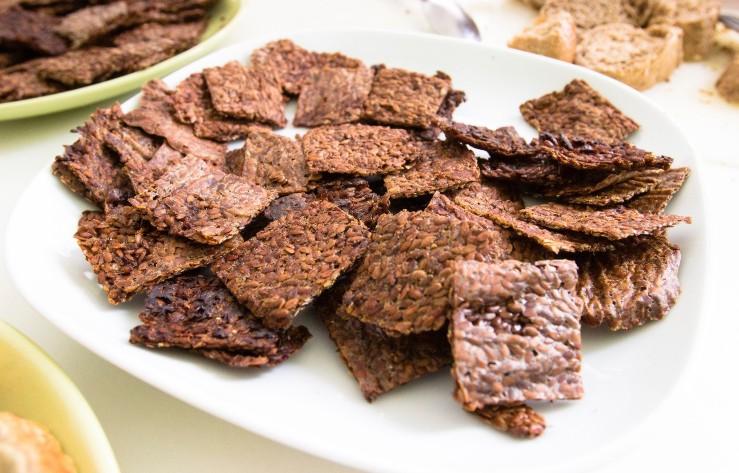Lněné sušenky