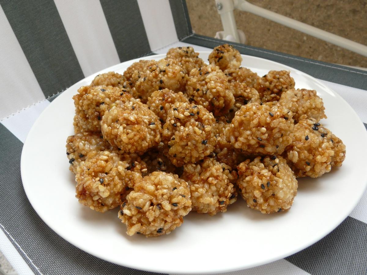 Smažené rýžové kuličky