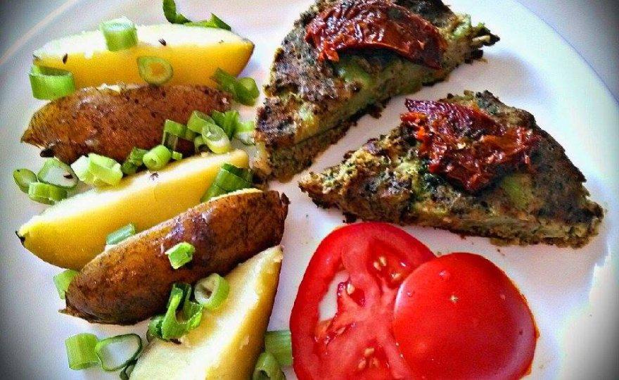 Brokolicový nákyp s uzeným tofu