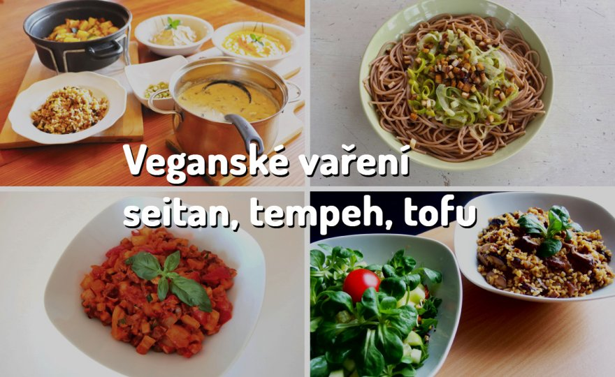 Kurz Veganské vaření - seitan, tempeh či tofu v receptech světové kuchyně
