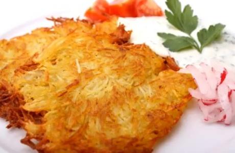 Veganské bramboráčky