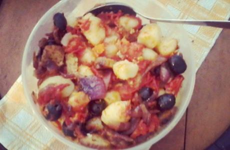 Gnocchi s rajčaty