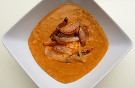 Hrachová curry polévka