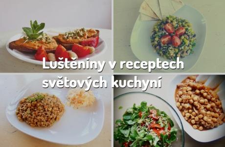 Luštěniny v receptech světových kuchyní