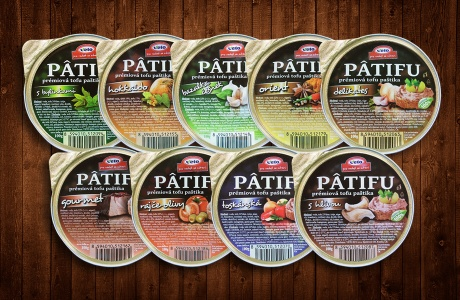 omácí verze tofu paštiky Patifu
