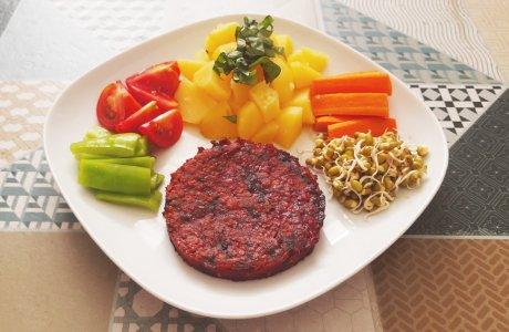 Řepový burger