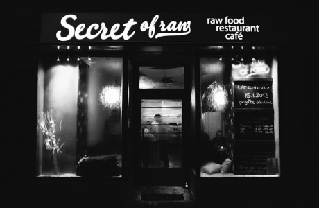 Secret of raw - vitariánská (raw food) restaurace