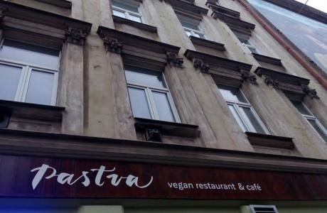 veganská restaurace Pastva