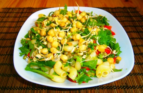 Těstovinový salát s robi
