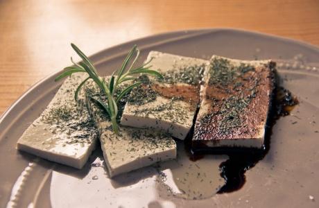 Uzené tofu