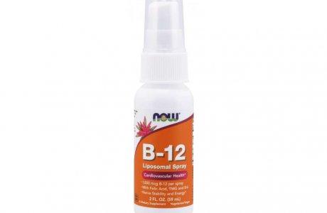 Lipozomální vitamín B12 sprej