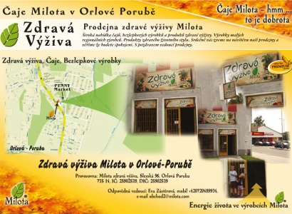 Zdravá výživa Milota Orlová