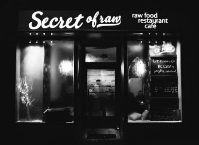 Secret of raw - vitariánská (raw food) restaurace