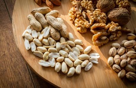 Ořechy a semínka