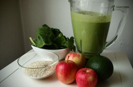 jablkové smoothie