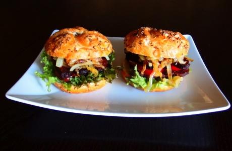 Tempehové burgery